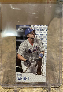 2021 Topps RIP Series DAVID WRIGHT Mini  PARALLEL /50 NY Mets SP! RARE!