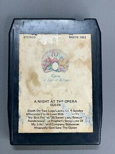 Queen A NIGHT AT THE OPERA 8 track tape - Bohemian Rhapsody, God Save the Queen