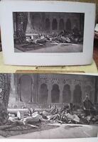 Vintage Print,JUSTICE OF THE SHERIFF,Paris Exhibition,1889