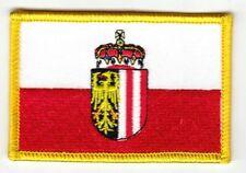 Aufnäher Österreich - Oberösterreich Patch Flagge Fahne