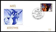 Weihnachten. Die Engel. Gemälde. FDC. Belgien 1975