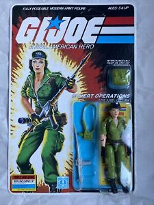 "1985 HASBRO GI JOE LADY JAYE RE-SEALED CARDED 3 3/4"" COMPLETE ARAH Action Figure"