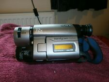 SONY CCD-TRV46E Handycam Vision Video Hi8 Camcorder + Accessories