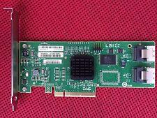 LSI RAID Controller Card Internal SAS 3081E-R 3Gbps SAS SATA SSD 8 Ports PCI-E
