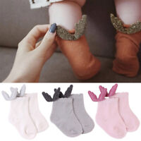 Infant Baby Socks Angle Wings Knitted Thin Cotton Socks for Newborn Girl