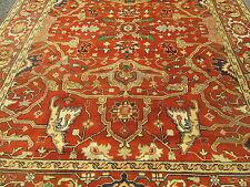 A 9 x 12 For A Bargain ! Serapi Design Oriental Carpet Excellent Condition