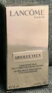 LANCÔME Absolue Yeux Global Multi-Restorative Eye Concentrate 0.5 oz~NEW