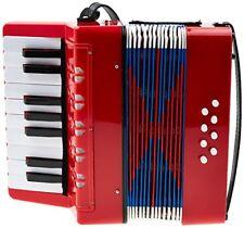 Classic Cantabile Fisarmonica per Bambini Rosso (z2d)