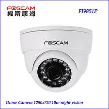 P2P Foscam FI9851P HD 720P H.264 IP Camera IR-Cut Wireless Free DDNS Onvif