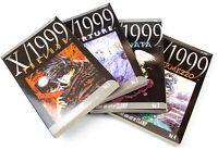 X/1999 Intermezzo: 4 Books (Vol 1-4) - Clamp, Viz Media   USED