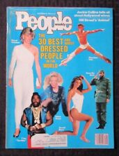 1983 Sept 26 PEOPLE Magazine FN 6.0 John Travolta / Christie Brinkley