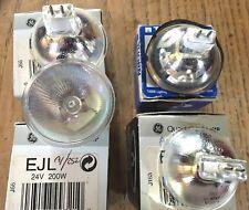 A1/252 24 volt 200 watt projector lamps total of 4 various manufacture