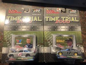 Racing Champions Time Trial 2000 Mark Martin Matt Kenseth New NIP NASCAR 1:64 sc