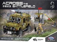Xingbao Military Army Jeep - 497PCS Compatible Blocks Model Bricks Toys