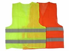 Neon  Safety Vest W Reflective Strips High Security Visibility 1 Size