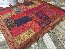 Fair Trade Patchwork Indian Brocade Wall Hanging 100 cm x 120 cm
