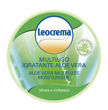 LEOCREMA Hydratisierende Allzweck Hautcreme mit Aloe Vera 150 ml