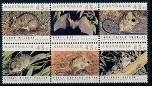 Mouse, Rodents, Australia 1992 MNH 6v Blk
