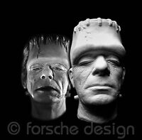 Glenn Strange Frankenstein Life Mask from Abbott and Costello Meet Frankenstein