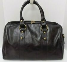 Vera Pelle Italy Travel Bag Black Leather