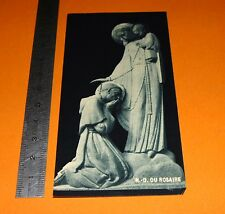 CHROMO 1940-1950 IMAGE PIEUSE CATHOLICISME HOLY CARD NOTRE DAME DU ROSAIRE
