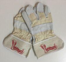 Arbeitshandschuhe Calcutta Gr.9 aus Rindspaltleder Handschuhe. 12 Paar.