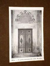 Milas o Milasa nel 1920 Porta monumentale della Moschea Turchia