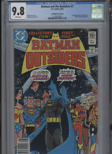 BATMAN AND THE OUTSIDERS #1 MT 9.8 CGC CANADIAN PRICE VARIANT APARO COVER AND AR