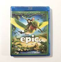 Epic (Blu-ray 3D+ Blu-ray +DVD +Digital) Deluxe Edition 3-Disc Set - MINT DISCS