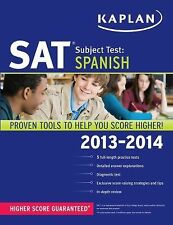 Kaplan SAT Subject Test Spanish 2013-2014 (Kaplan Test Prep) by Kaplan