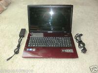 "Samsung NP-R780H 17,3"" Notebook Rot, 500GB HDD, 4GB RAM, Intel i5, 2J.Garantie"