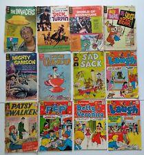 Silver / Bronze Age 12x Comic Lot | Gold Key, Dell, Harvey, Archie, Patsy Walker