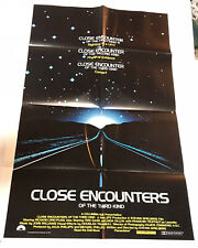 Close Encounters of the Third Kind Original Poster 35x23 1977 Thought Factory