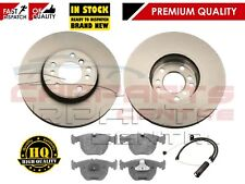 FOR BMW X5 E53 3.0 D 3.0i 2000-2006 FRONT BRAKE DISC DISCS PAD PADS SENSORS