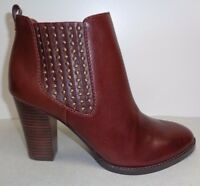 Antonio Melani Size 9.5 M EADIE Woodberry Leather Ankle Boots New Womens Shoes