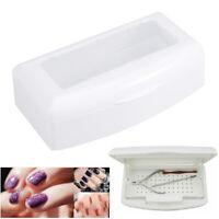 Unghie Manicure Strumenti per Contenitori per Sterilizzazione Cassetto per Steri