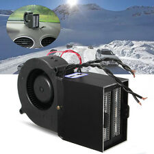 Adjustable 500W Ceramic Car Fan Heater Heating Warmer Defroster Demister DC 12V