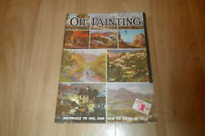 OIL PAINTING - Paperback Instruction Book By Walter T Foster (No 4)
