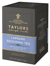 Taylors of Harrogate Lapsang Souchong Tea - 20 Wrapped & Tagged Tea Bags