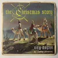 THE CHRISTMAS STORY VIEW-MASTER PACKET B383 NATIVITY 3 REELS