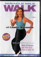 Miracle Mile Walk with Leslie Sansone (DVD, 2002)
