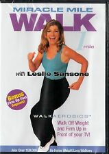 Miracle Mile Walk with Leslie Sansone (DVD, 2002)