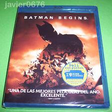 BATMAN BEGINS BLU-RAY NUEVO Y PRECINTADO
