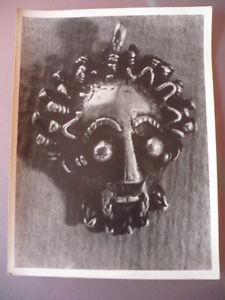 Photo 1945 Statue Africa Australasia Masque Hervochon Art Premier Primitive