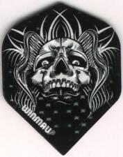 Tribal Skull Dimplex Dart Flights: 3 per set