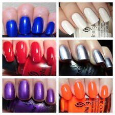 China Glaze Nail Polish-All Colours Choice of Shades Cheap Free P&P !!!!!