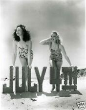 Susan Hayward and Virginia Dale #307 4th of July SEXY Beach photo Portrait