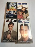 Jim Carrey VHS 4 tape bundle-all tested and working great! (Bin A2)
