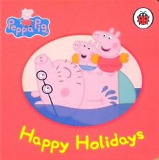 Peppa Pig Story Book - HAPPY HOLIDAYS - Board Book - NEW