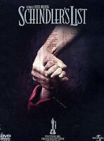 Schindler's List Special Edition 2 DVD Digipack Nuovo Sigillato Cofanetto N